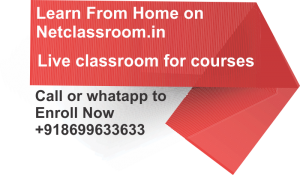 Enroll for Live online class