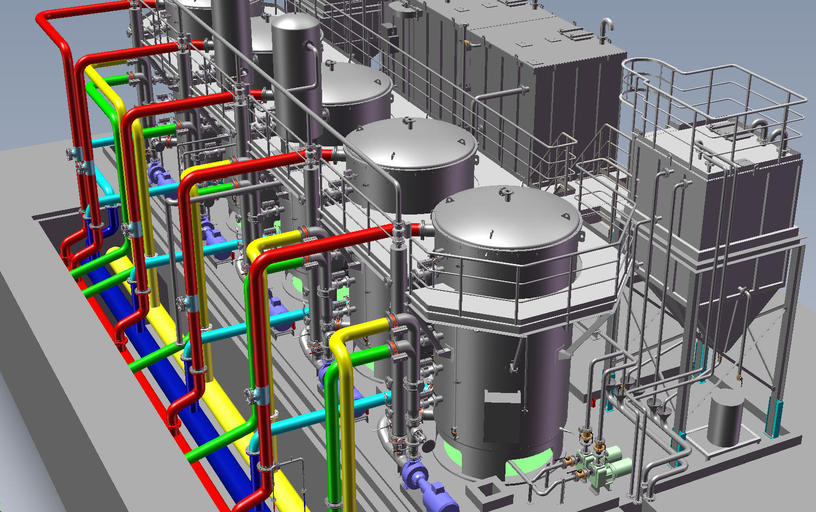6 Weeks Six Training In Plant Design Caddprimer India Piping Diagram Solidworks