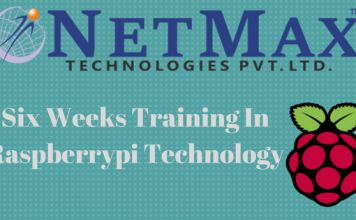 Six weeks training in Raspberrypi