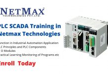 PLC SCADA Training in Netmax Technologies