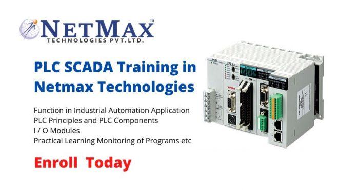 PLC SCADA Training in Netmax Technologies